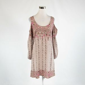 Brown ANTHROPOLOGIE BY TRACY REESE dress S